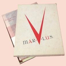 1950's Marvlus Dusk Colored Stockings with Box