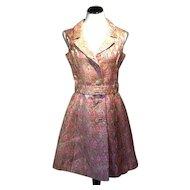 1960's Gino Charles Lurex Dress