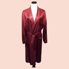 1950's Men's Royal Knight Lounge Robe