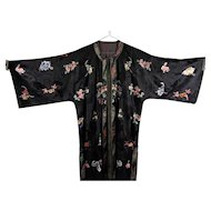 Gorgeous Antique Chinese Qing Dynasty Ladies Jacket Silks