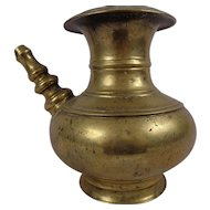 Beautiful Shapely Indian Brass Lota 17/ 18th Century