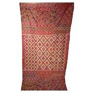 Antique Wedding Shawl Chaddar- Bridal Garden Bagh