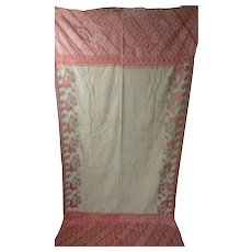 Antique Wedding Shawl Chaddar- Bridal Garden Bagh Hazara