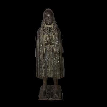 Very Rare Wax Votive / Effigy Figure 1600s / 1700s