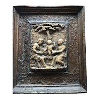 Antique Circa 1620 Malines (Flemish) Alabaster Sculpture