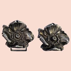 Art Nouveau Sterling Buckle, Patented June 25, 1901, Design 1797