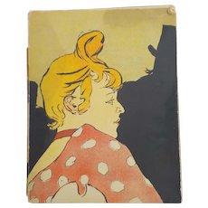 Les Affiches de Toulouse-Lautrec, Edouard Julien, Andre Sauret, 1950