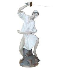 "Lladro ""Wrath of Don Quixote"""