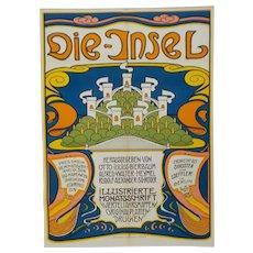 Die Insel Poster from Das Deutsche Plakat: Von Den Anfangen Bis, 1965
