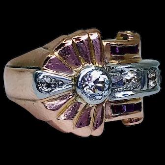Vintage Art Deco 14k Gold Ring