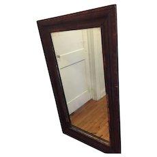 American Empire Mirror, Large Ca. 1830-1840. Has Original Hand Silvered Heavy Glass. Needs Restoration