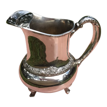 Ballad Community Silver Plate Water Pitcher