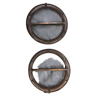Bronze Cabin Ventilation Ports from 1956 Chris Craft