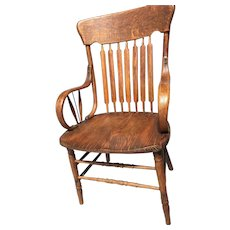 Oak Vintage Chair Bentwood Hand Made