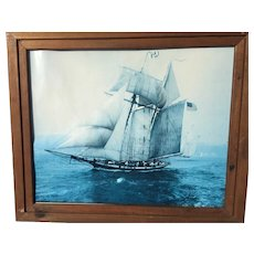 Pride of Baltimore Clipper Schooner Framed Photo Print