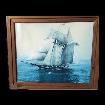 Pride of Baltimore Clipper Schooner Framed Photo Print