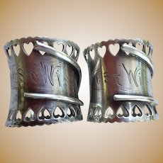 Best Wishes Wishbone Napkin Rings