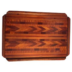 Wooden Tray or Writing Desk made by Master Craftsman, over 100 Laminated Pieces