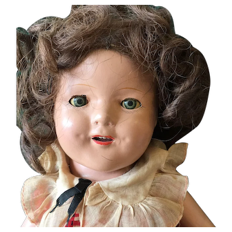 Compo doll, resembles jane withers