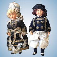 Pair of vintage celluloid Dolls's
