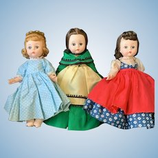 3 Alexanderkin Little Women dolls