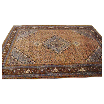 6.6x9.9 Senneh Bijar Persian Area Rug