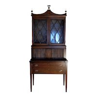 Maddox Mahogany Folding Desk / Secretary