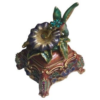 Estée Lauder Jeweled Bird in Bloom Solid Perfume Compact