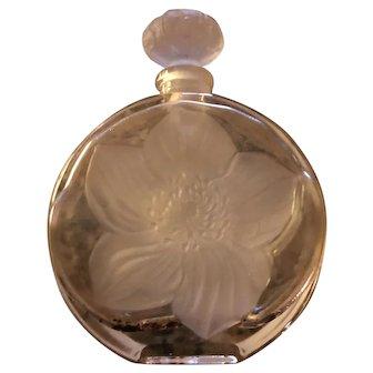 Wonderful Vintage Molded Perfume Bottle