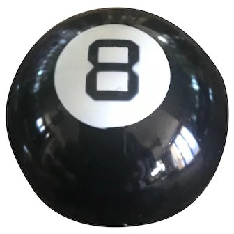 Henriette Vintage 8 Ball Compact