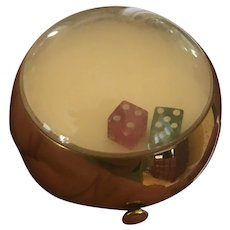 Henriette/Wadsworth Vintage Dice Powder Compact