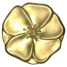 Rare Estee Lauder Angela Cummings 18KT Gold and Diamond Powder Compact