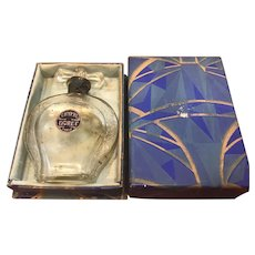 Vintage Doret Chypre Perfume Bottle