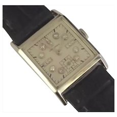 Certified Palladium/Platinum Longines Diamond MENS LADIES Watch W/Box