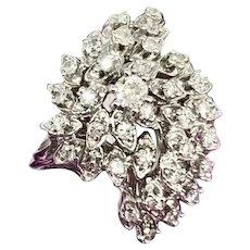 Fine Diamond 14KT 1 TCW Ladies Ring Certified $2,850 606495