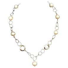 """Fine South Sea Pearl 14KT 11.30MM 18"""" Necklace Italy Certified $3,895 715225"""