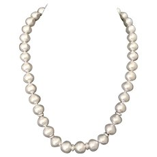 "Fine Diamond South Sea Pearl 14Kt 13Mm 18.2"" Necklace Certified $15,450 817025"