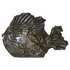 Fish Sculpture by Fitzia Mendialdua Chopin