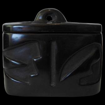 Pueblo Ceramic Box by Rayita Gonzales