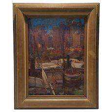 City Pier Sail Boats