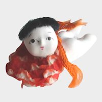 Vintage Miniature Japanese Baby Doll 1940
