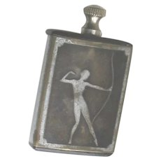 Art Deco Miniature Bakelite Perfume Bottle