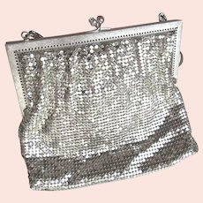 Silver Metal Mesh Purse Vintage Made in West Germany