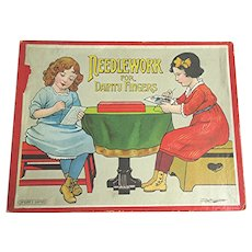 Vintage Spears Game Needlework For Dainty Fingers circa 1920