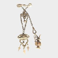 Antique Doll Chatelaine For French Fashion Doll