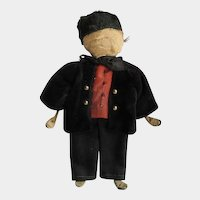Antique Hand Made Mennonite Doll