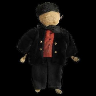 Antique Hand Made Mennonite Doll