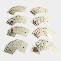 B.P. Grimaud Vintage Miniature French Playing Cards