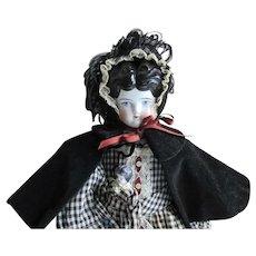 Antique Doll China Head Pretty Face