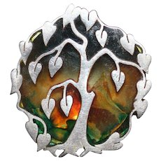 Tree of Life Sterling Pendant